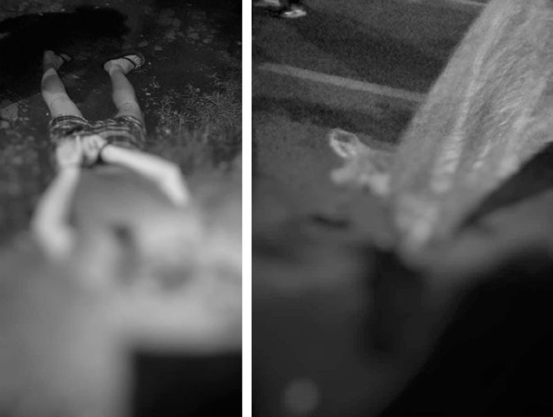 BACOLOD. A severed head and a headless body were found in separate areas in Bacolod City Tuesday evening, August 31, 2021. (Contributed photo)