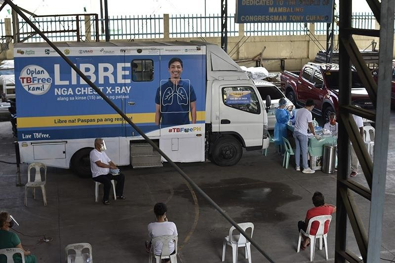 MOBILE VAN. Free chest x-rays are conducted in this van as part of the City-wide TB Elimination Campaign (CiTEC). (Photo courtesy of  Lester Ouano, communication specialist of TB Innovations and Health Systems Strengthening Project, FHI360)