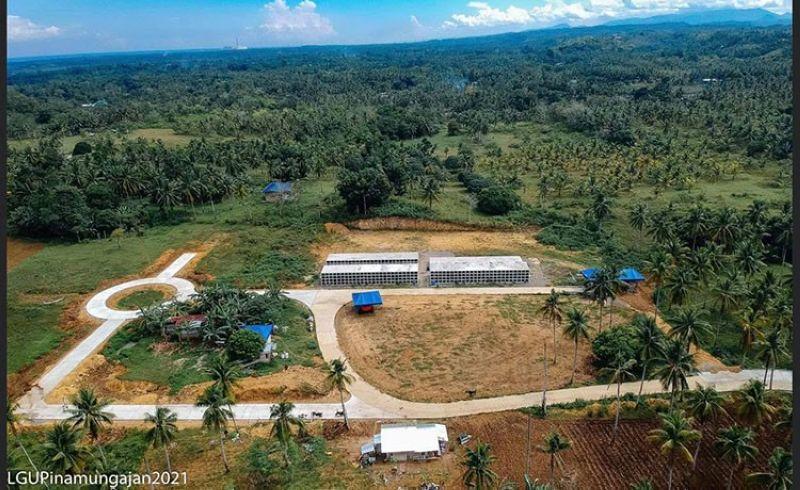 Pinamungajan's new municipal cemetery is still a work in progress. (Pinamungajan Facebook Page)