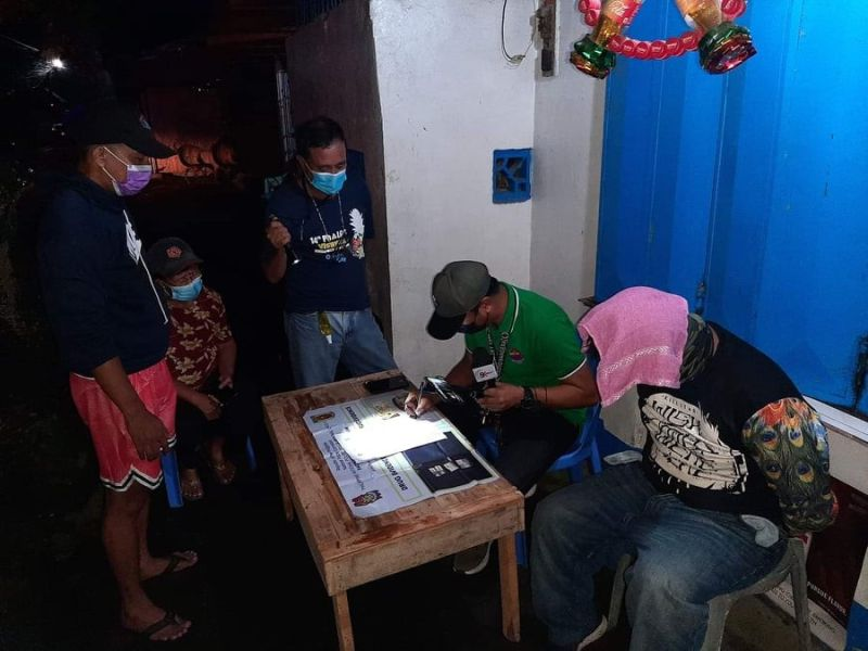 BACOLOD. One of the anti-illegal drug operations in Bacolod City this month. (File photo)