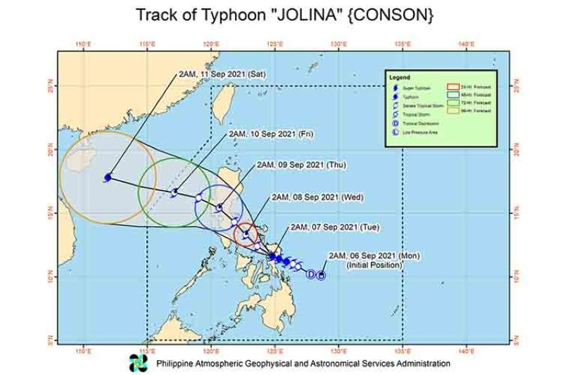 (Image from Philippine Atmospheric, Geophysical and Astronomical Services Administration's Facebook)
