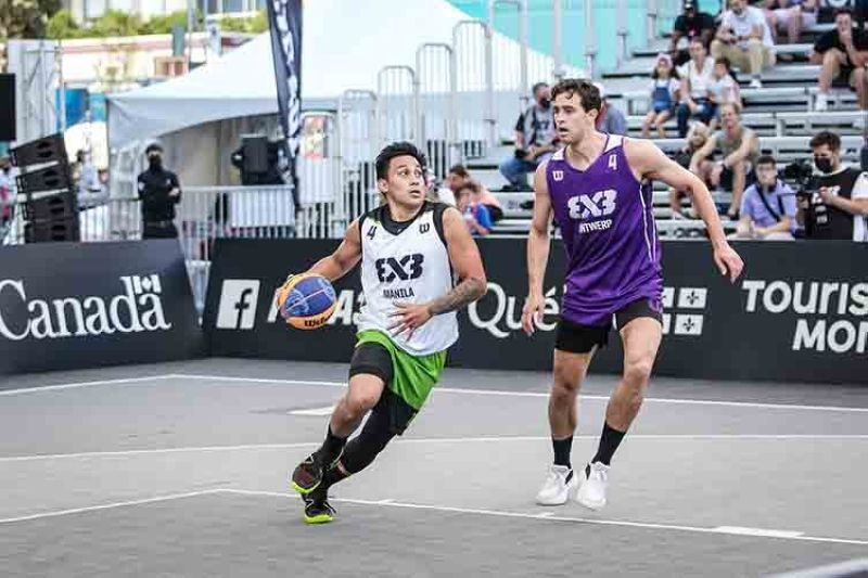 Mac Tallo is looking forward to doing the work to help the Manila Chooks TM perform better in their upcoming tournaments. (FIBA 3x3)