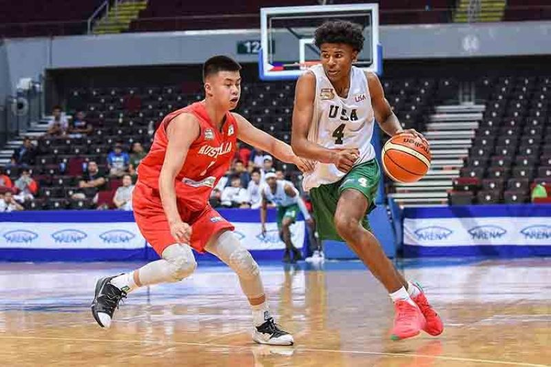 Before he was selected by the Houston Rockets as the second overall pick of the 2022 NBA Draft, Filipino-American Jalen Green competed in the NBTC.  (NBTC Facebook page)