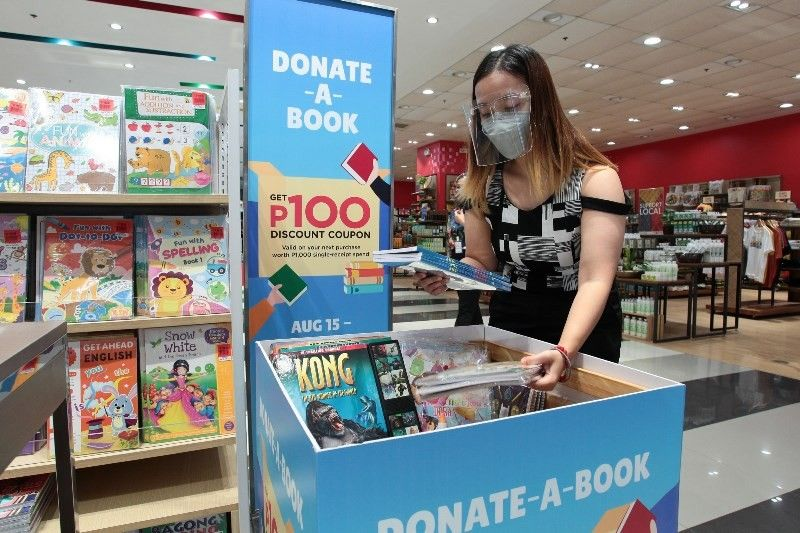 DONATE A BOOK. SM shoppers can continue to share the joys of learning with children who need them most through The SM Store's Donate a Book campaign, which is now ongoing at select branches nationwide until September 30, 2021. (Contributed photo)