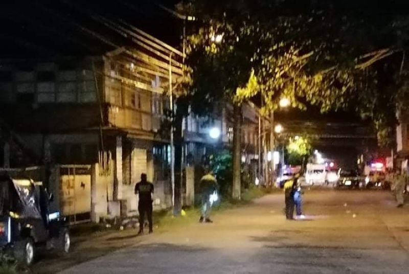 NEGROS. The area on Rosario Street, Barangay 38 in Bacolod where a police and a drug suspect were killed recently. (File photo)