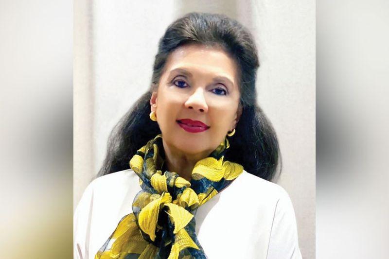 PETITE GARCIA. Zonta Club of Cebu 2 president.
