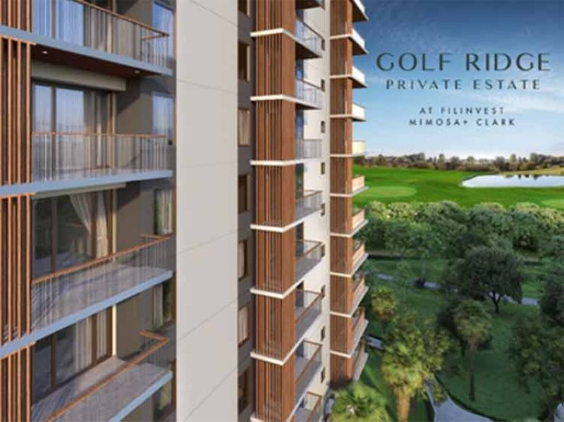 Artist's perspective of Golf Ridge and the view of Mimosa  Golf course