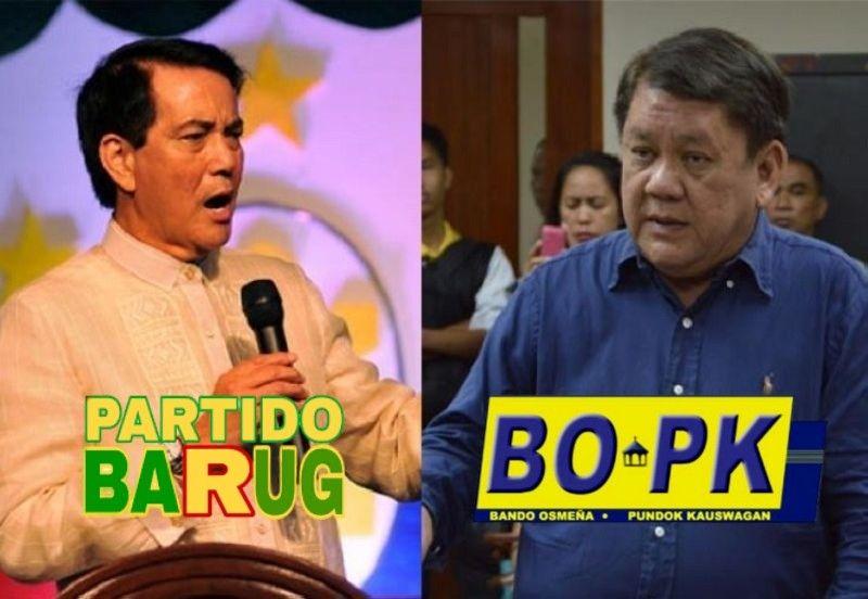 CEBU. Cebu City Vice Mayor Mike Rama and former mayor Tomas Osmeña. (File photos)
