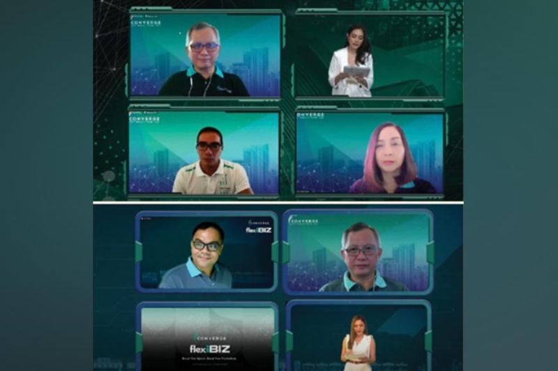 """ONLINE. Key speakers discussed the best fiber solutions that will help equip, sustain and multi-proof businesses at the online event """"Let's Talk FlexiBIZness."""