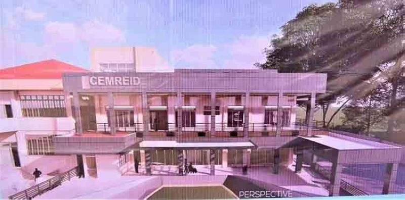 The Provincial Government of Negros Occidental breaks ground for the P100-million Emerging and Re-emerging Infectious Diseases extension building at the Teresita L. Jalandoni Provincial Hospital in Silay City is positioned to cater to more Negrenses who need immediate medical attention. (Capitol Photo)