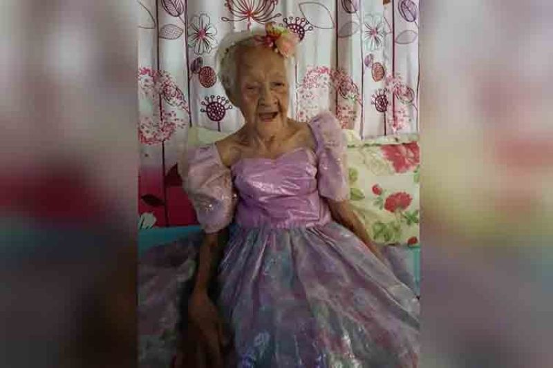124-year-old Filipina is world's oldest person alive (Contributed photo)