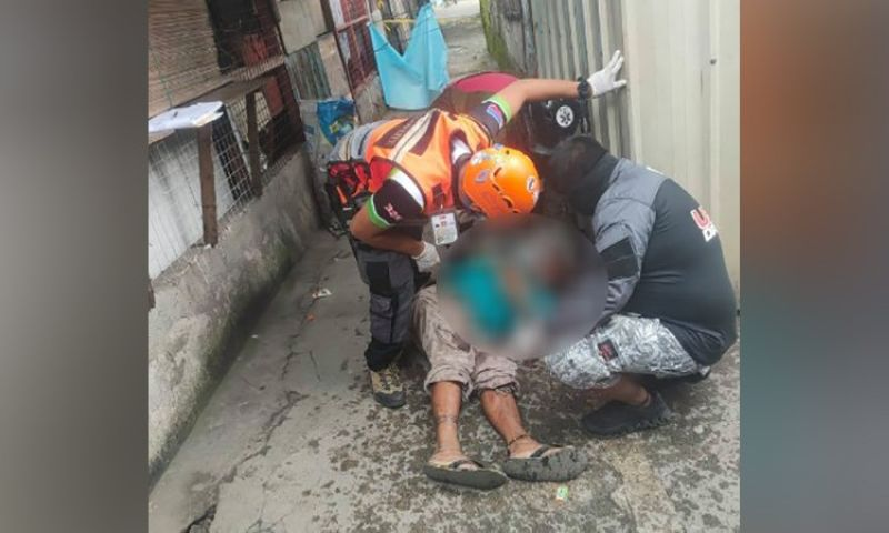 NEGROS. A man was killed in a shooting incident in Barangay 2, Bacolod City Tuesday, September 14. (Contributed Photo)