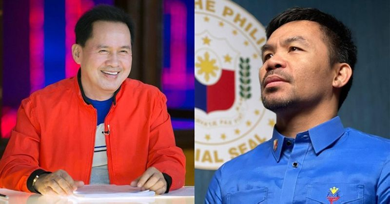 Photo credit to Pastor Apollo Quiboloy (left) and Manny Pacquiao (right) FB pages