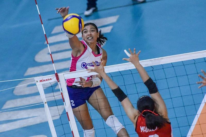 Head coach Jorge Edson Souza de Brito left Philippine volleyball superstar Alyssa Valdez out of the women's national team. (PVL)
