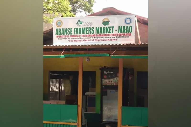NEGROS. The Abanse Farmers Market located at Barangay Ma-ao in Bago City will be unveiled Thursday, September 16. (Contributed photo)