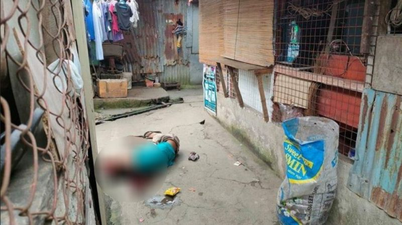 BACOLOD. Two persons were killed in a shooting incident at Barangay 2 in Bacolod City yesterday, September 14. (Contributed photo)