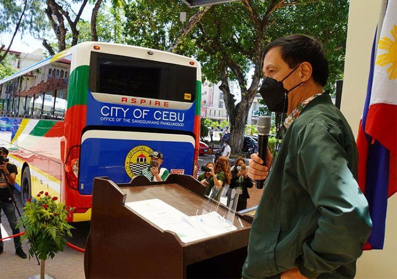 CEBU. Cebu City Vice Mayor Mike Rama. (Photo from Cebu City Vice Mayor's Office Facebook page)