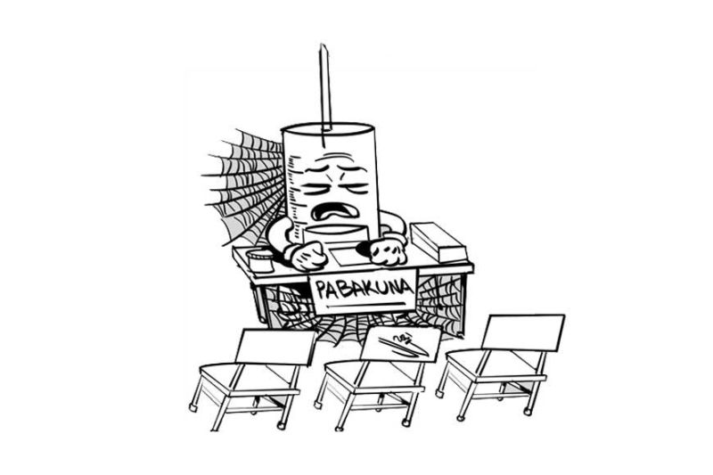Editorial art by John Gilbert Manantan