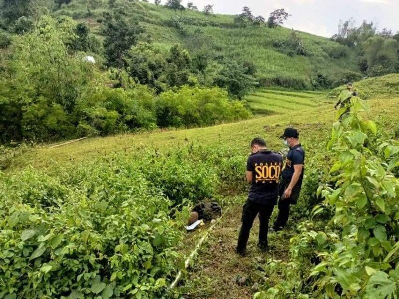 NEGROS. The encounter site in Sitio Balik-balik, Barangay Tabu in Ilog town on Tuesday, September 14. (File photo)