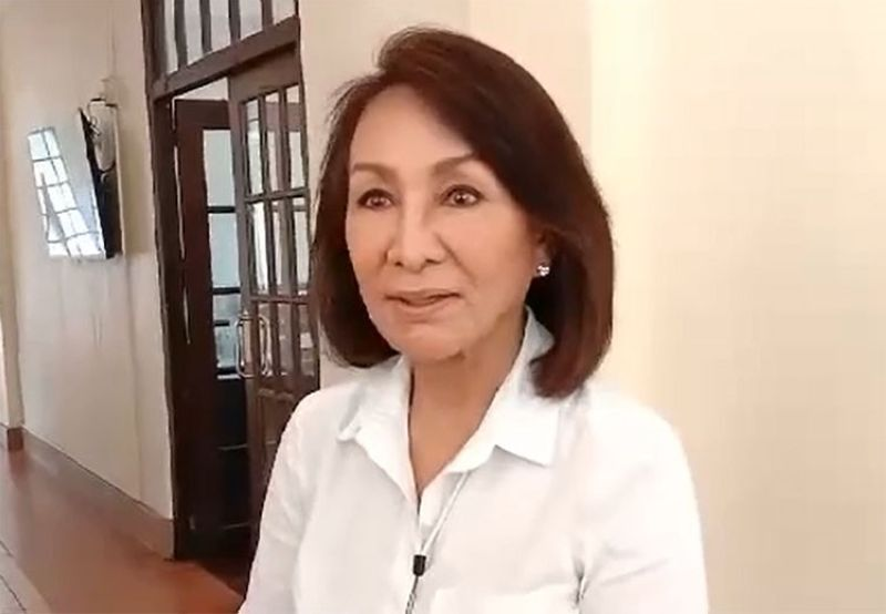 CEBU. Governor Gwendolyn Garcia. (Screenshot from video taken by Mary June Enriquez)