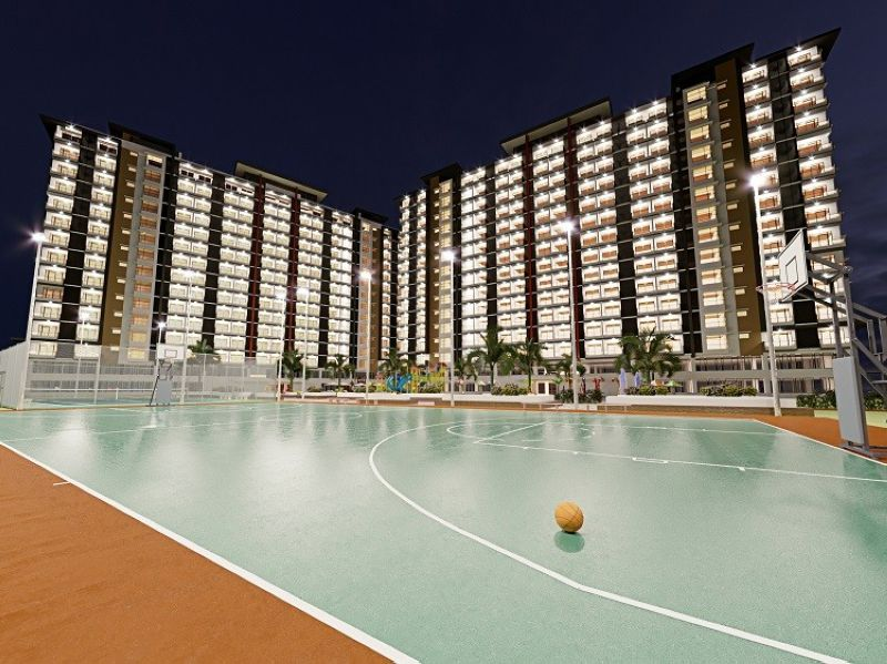 DAVAO. The Basketball Court is one of the many amenities of Legacy Leisure that occupies the 70 open space of the community project. (Contributed photo)