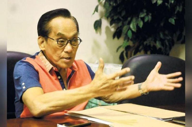 House Assistant Majority Leader and Cebu Rep. Eduardo Gullas (File photo)