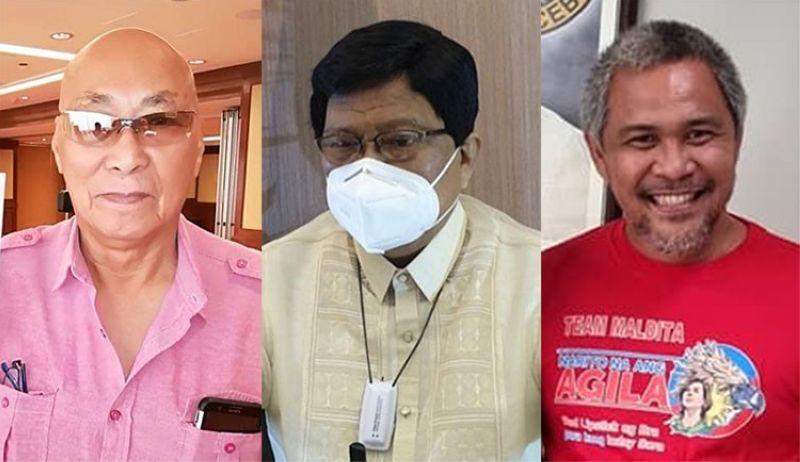 CEBU. (From left) Crisologo Saavedra, Cebu City Mayor Edgardo Labella and City Administrator Floro Casas Jr. (SunStar File/Casas's Facebook account)