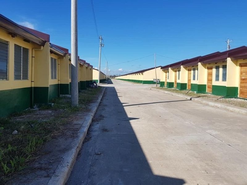 NEGROS. The Yolanda Housing Quarantine Facility in Silay City being eyed as a makeshift hospital by the Provincial Government of Negros Occidental. (Contributed photo)