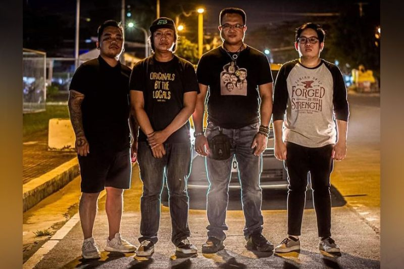 """NEGROS. """"Tawong Dalan"""" band members, namely, (from left) Nathanael Paul Castillo, Christian Samillano, Prince Gil Delloso and Angelo Oro, who are launching their self-titled album Wednesday, September 22, 2021. (Contributed Photo)"""