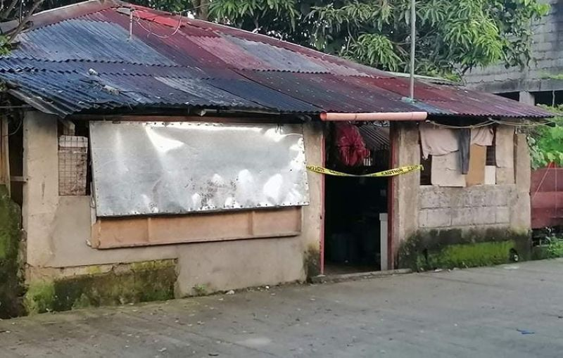 Former village watchmanAurelio Rull, 79, was killed inside his houseatBarangay Vista Alegre in Bacolod City yesterday, September 21. (Contributed photo)