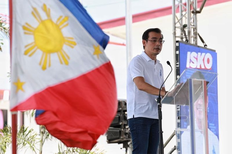 MANILA. Manila City Mayor Isko Moreno announced on September 22, 2021 his decision to run for president in 2022 elections. (Photo from Moreno's Facebook page)