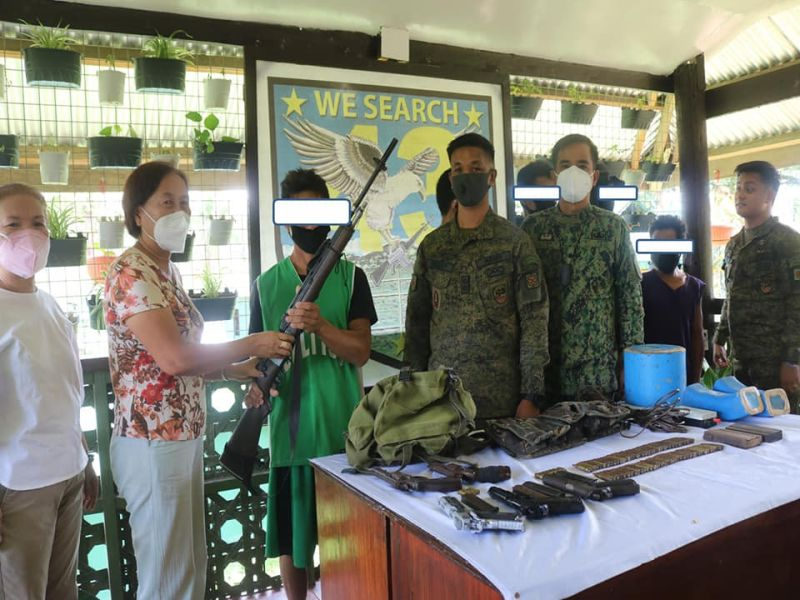 Photo from 43rd Infantry Battalion- Philippine Army