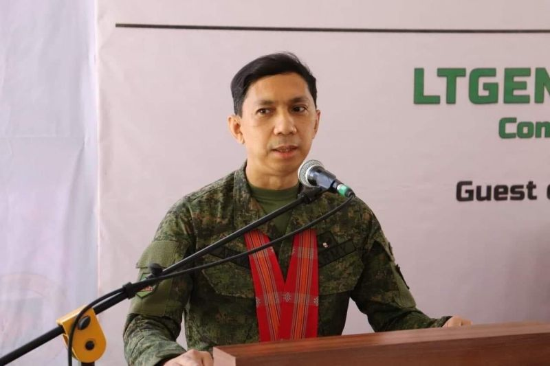 NEGROS. Newly installed 3rd Infantry Division commander Major General Benedict Arevalo. (Contributed photo)
