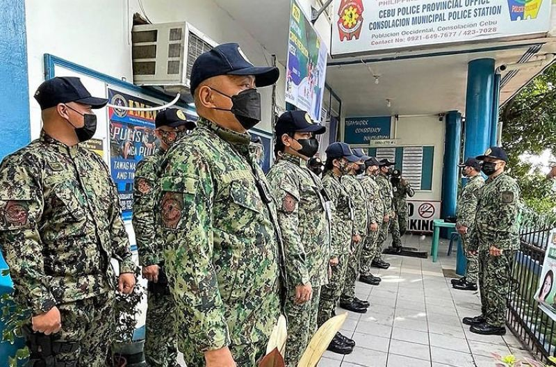 Consolacion Police Station wins top performance award (Photo courtesy of LGU Consolacion's Facebook)