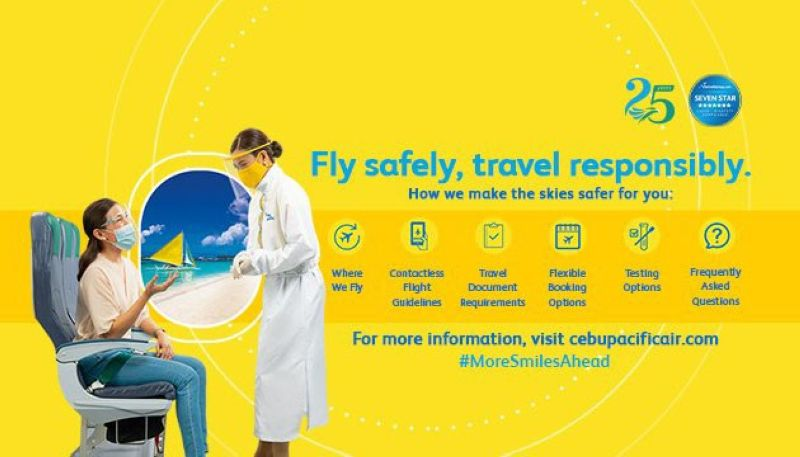 CebPac assures flying today is safe amid Covid worry (Photo from Cebu Pacific's Facebook)
