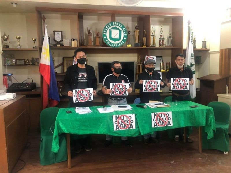 NEGROS. Leaders of various groups opposing the Annual General Membership Assembly of Central Negros Electric Cooperative will hold a silent protest on Sunday. (SunStar Bacolod file)