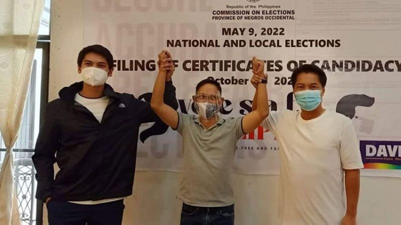 NEGROS. Reelectionist Negros Occidental Third District Rep. Jose Francisco