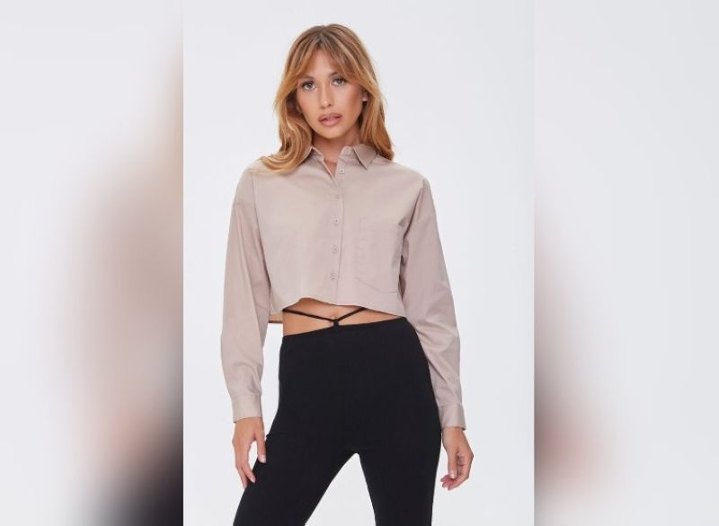 SM. Classic cropped button front shirt. (Contributed photo)