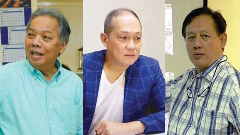 CEBU. (From left) South Road Properties manager Engr. Roberto Varquez, and Cebu City Councilors Franklyn Ong and Joy Young. (SunStar File)