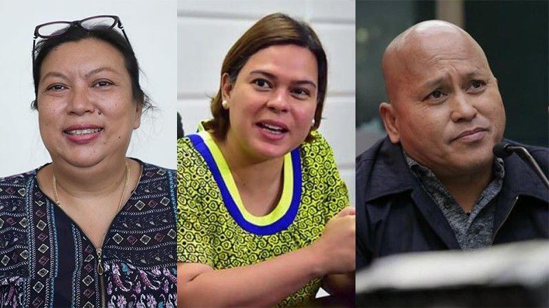 CEBU. (From left) Dr. Maria Theresa Heyrosa, Davao City Mayor Sara Duterte-Carpio, and Senator Ronald dela Rosa. (Contributed/SunStar File)