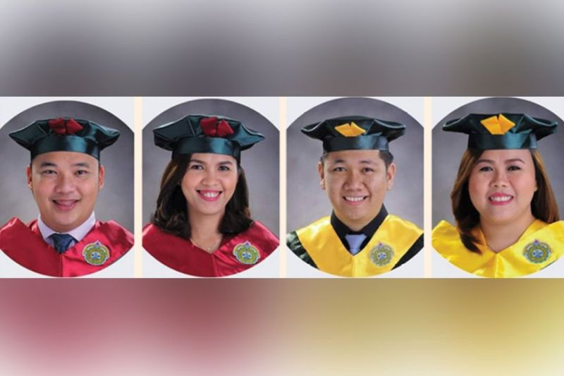 PASSERS. The University of San Jose-Recoletos School of Business and Management (SBM) educators who passed the Chartered Institute for Securities and Investments (CISI) Examination on Fundamentals of Financial Services.
