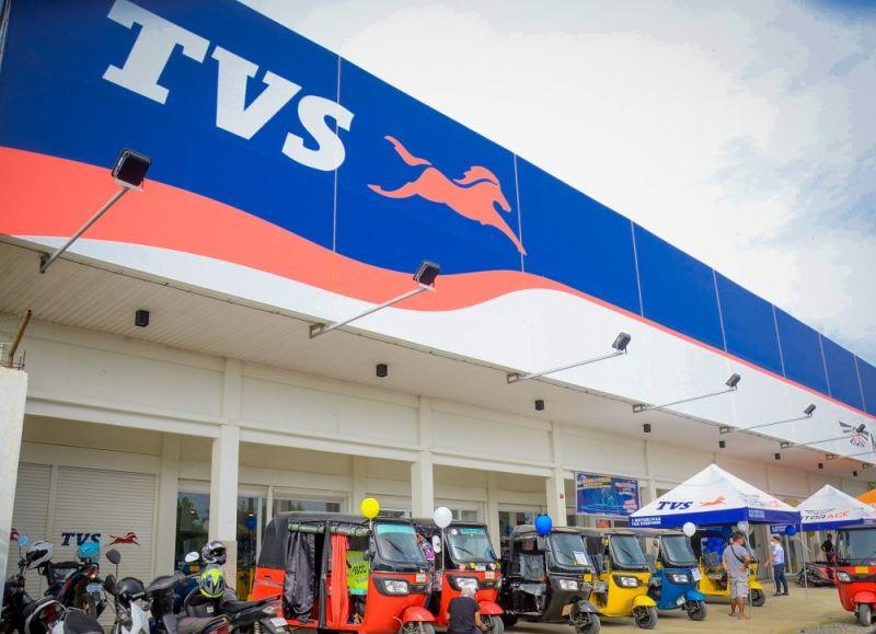 DAVAO. MotorAce TVS Motor 3S Store, located in Purok 10 Kabisig, Davao-Bukidnon Road, Calinan, Davao City, is now open to serve the Filipinos. (Photo by Nekko Siton Photography)