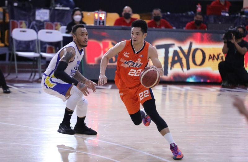 Allein Maliksi hit several big shots down the stretch to give Meralco the win over Magnolia in Game Five of the PBA Philippine Cup semis. / PBA