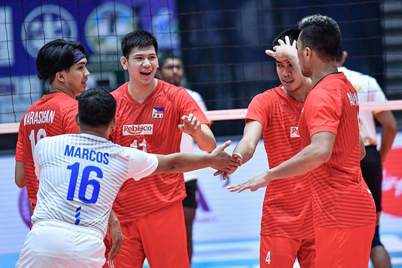The Rebisco-Philippines will not be going home empty-handed after they beat CEB Sports Club on Wednesday night. (Asian Volleyball Confederation)