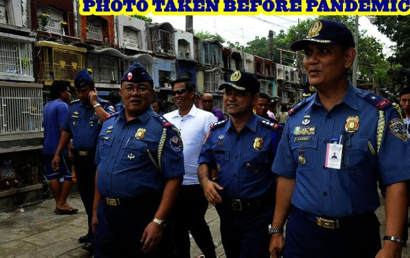 Cebu, Talisay police to implement strict rules for cemetery visits (File photo)