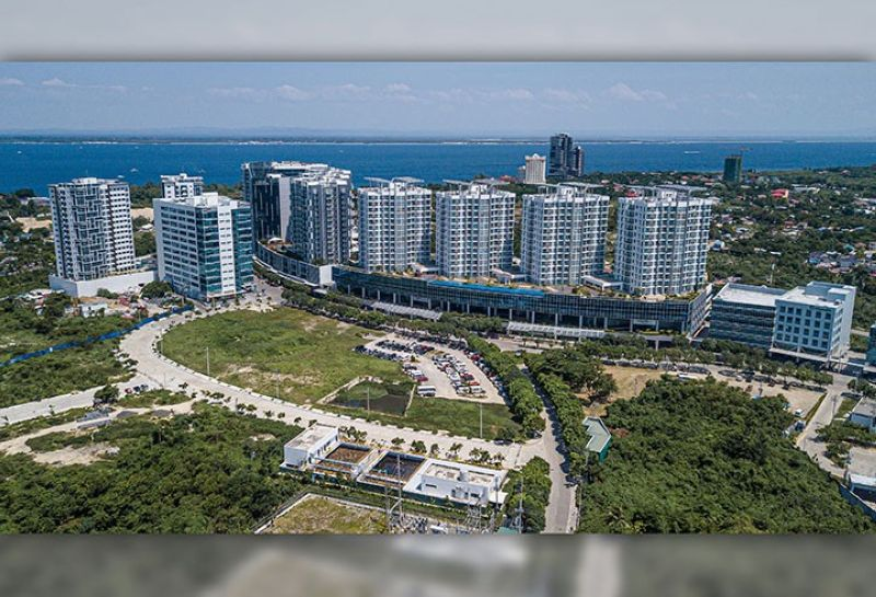 """The Mactan Newtown enjoys the distinction of being the Philippines' first """"Live-Work-Play-Learn"""" lifestyle township with its own beachfront located in Lapu-Lapu City."""