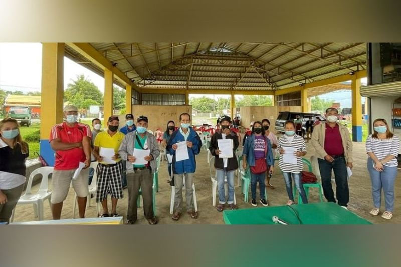 NEGROS. DAR-Negros Occidental I holds Barangay Agrarian Reform Committee formation and strengthening activity in Murcia town recently. (Contributed Photo)