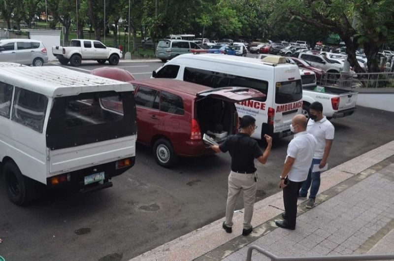 NEGROS. The Provincial Government of the Negros Occidental will soon implement a new riding system on government vehicles issued to its employees. (Photo by Teresa D. Ellera)