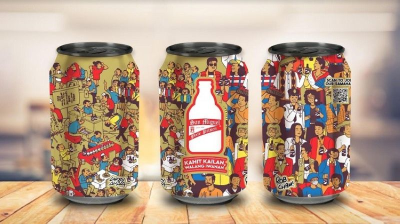NEGROS. The limited-edition Larry Alcala X Rob Cham IconiCan released by San Miguel Pale Pilsen. (Contributed photo)
