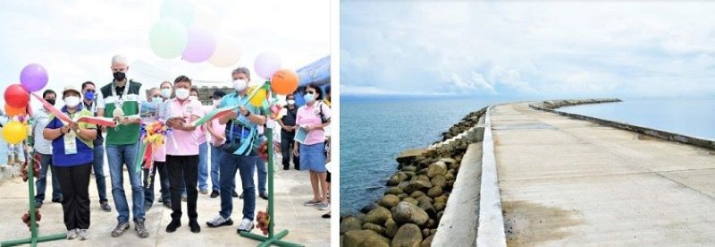 NEGROS. The just turned over P153.5 million Sagay Feeder Port to the City Government of Sagay positioned to boost the market value of agricultural and fishery products in the city and nearby localities. (Capitol photos)